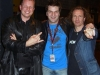 CHRIS and ROB with MARC LYNN from GOTTHARD