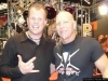 CHRIS with MIKE TERRANA from RAGE, MASTERPLAN