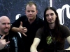 CHRIS with OSCAR DRONJAK and PONTUS NORGREN from HAMMERFALL