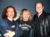 ROB and CHRIS with LEO LEONI from GOTTHARD
