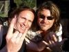ROB with CHRIS VON ROHR from KROKUS