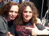 ROB with VINNIE MOORE from UFO