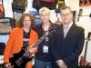 ROB with THE MINARK GUITARS STAFF