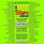 CD Cover Bandwettbewerb Songtext, 2002