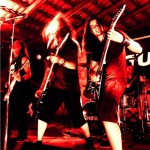 Feline Melinda live at Atzwang Metal Festival